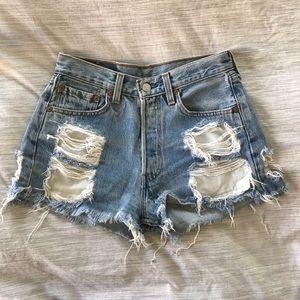 Pants - Levi vintage denim shorts